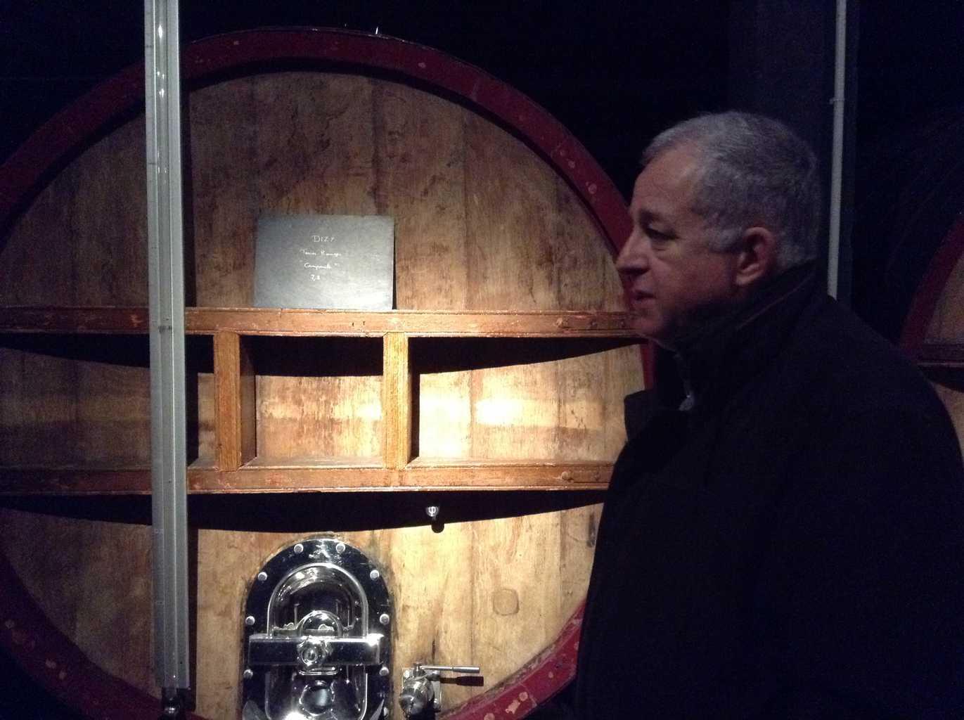 Jean Hervé in de vatenkelder
