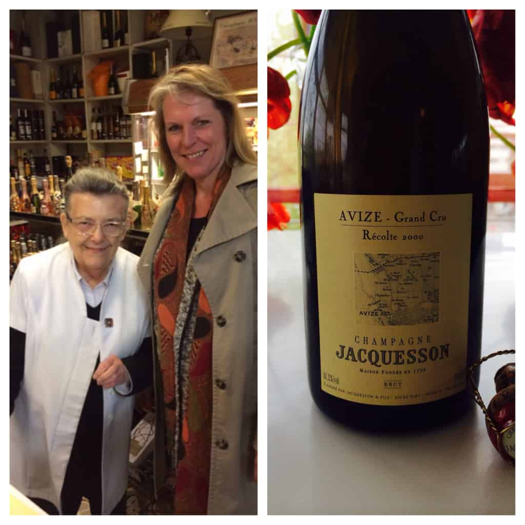 Het lekkerste winkeltje van Epernay is van Madame Salvatori! Champagne Jacquesson