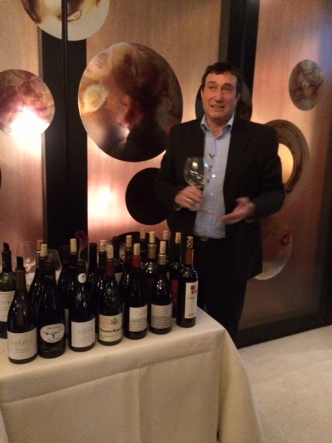 Fred Nijhuis en de grenache wijnen bij Parkheuvel