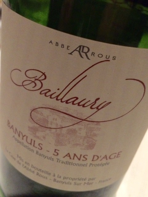 Banyuls Grand Cru - 5 ans d'age - Languedoc - Frankrijk