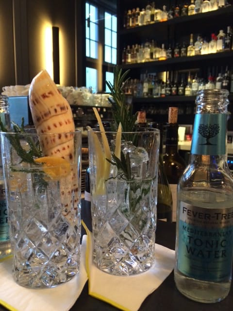Gin & Tonic: Hermit en VL92 Mediterranean