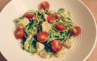 Courghetti-Kip-Pesto en Rueda Blume