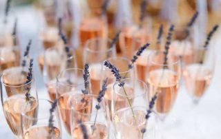 champagneroselavendel