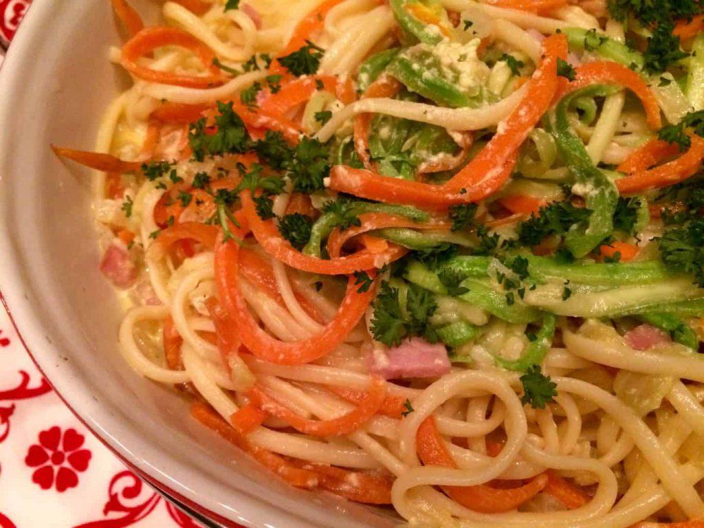 spaghetti spirelli-heel
