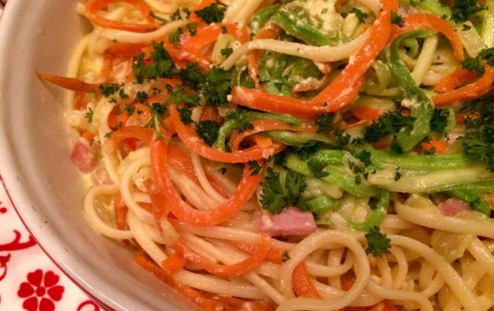 Welke wijn bij Spaghetti á la Spirelli? Mét recept!