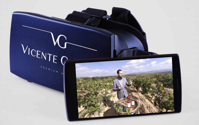 Virtual reality: Interactieve wijnproeverij