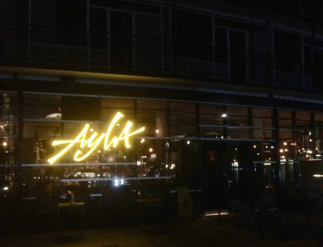 Ayla trendy nieuwe hotspot in rotterdam anne wies - Eigentijds restaurant ...