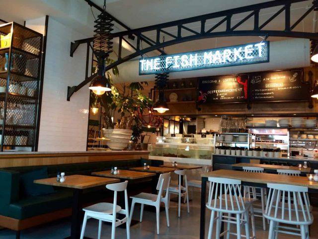 Fish market fm binnen