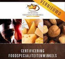 Foodspecialiteitenwinkels certificering