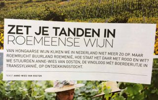 Winelife Uitgelicht Roemeense wijn