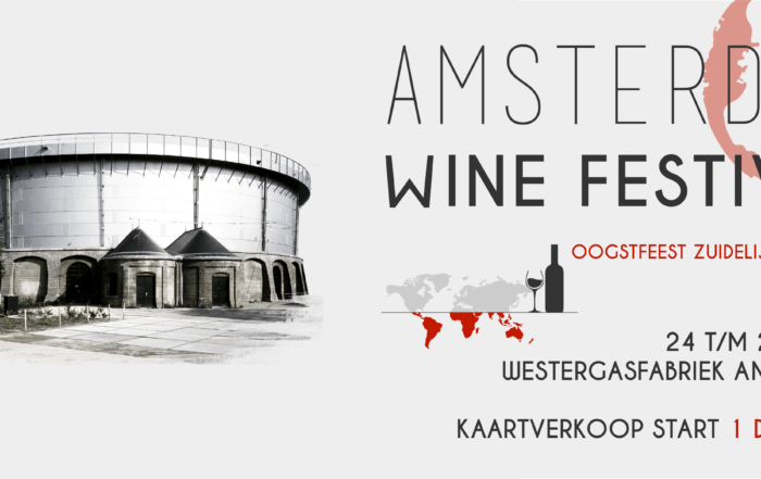 Amsterdam Wine Festival gaat 'Down Under'