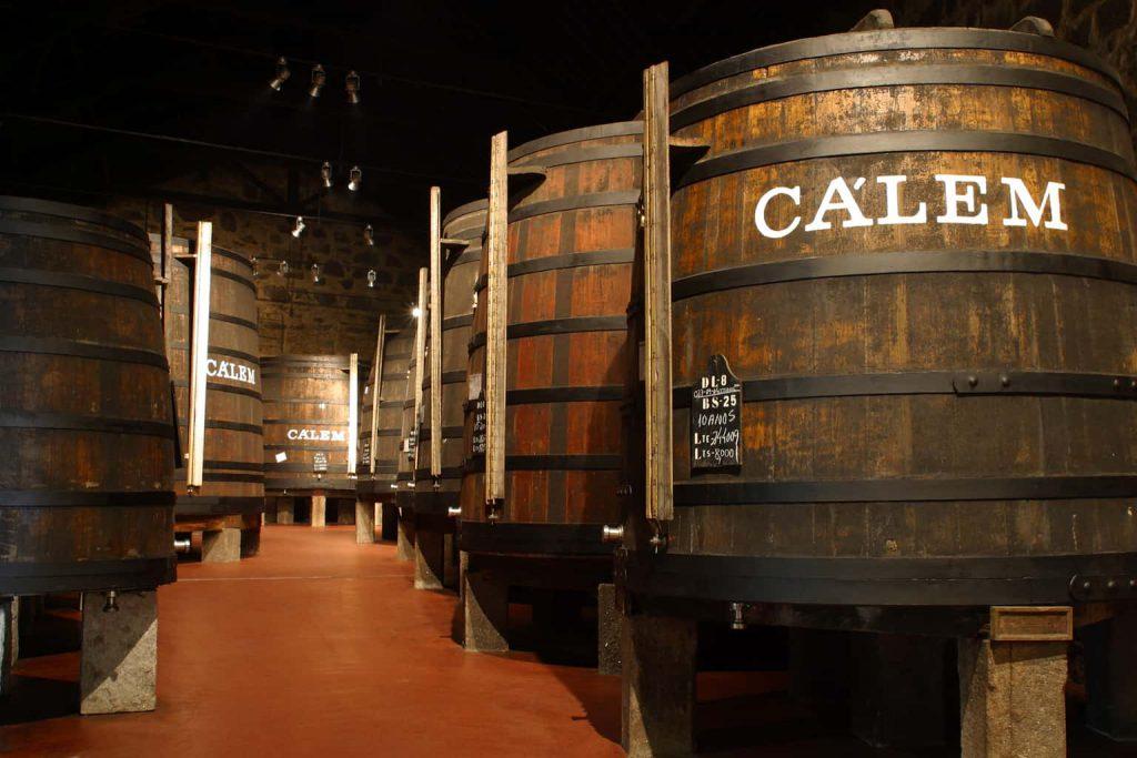 Cálem Port Kelder houten vaten