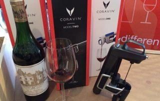 Coravin en wijn