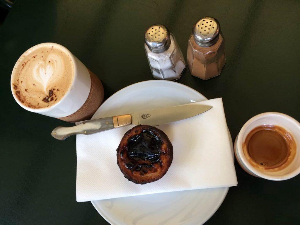 Pastel en koffie Taberna