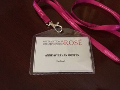 International Rosé Championship 2017 Badge AW