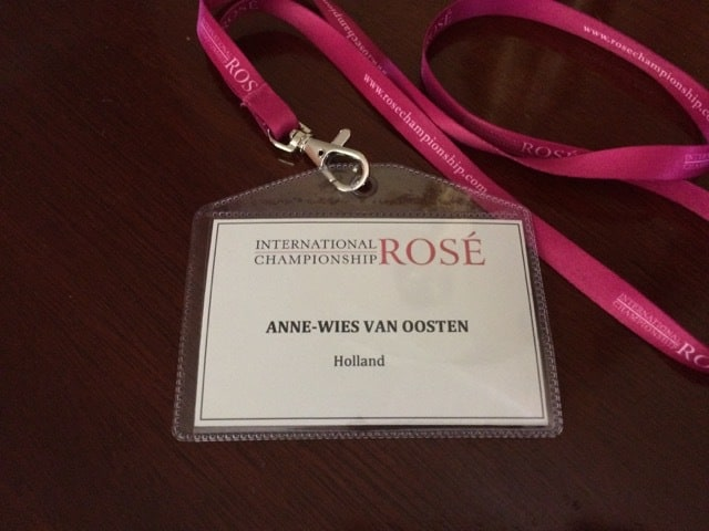 International Rosé Championship 2017 Badge AW