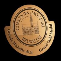 Concours Mondial Bruxelles Grand Gold Concours Mondial Beijing