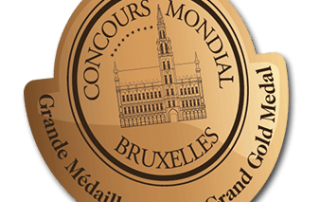 Concours Mondial Bruxelles Grand Gold