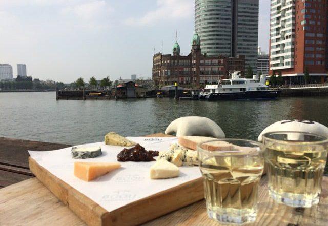 10 Heerlijke terrassen aan de Rotterdamse Maas