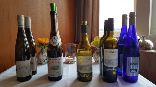 SS Rotterdam de geschonken wijnen