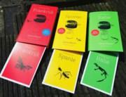 Vakantiekookboeken Onno Kleyn. Foto twitter Singel UitgeverijenVakantiekookboekjes Onno Kleyn. Foto twitter Singel Uitgeverijen