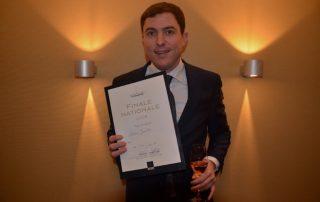 Champagne ambassadeur Sabas Joosten van De Librije