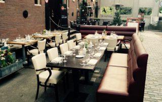 Restaurant Karakter, het terras (1)