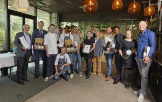 Garmona Amuse Wedstrijd winnaars en jury