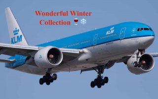 KLM Wonderful Winter Collection uitgelicht vliegtuig Wiki