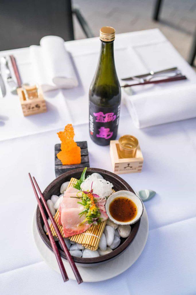 O&O tonijn en sake