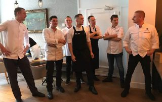 Escoffier chefs voor aanvang 2