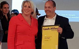 Jarno Eggen en Cindy Borger Gault&Millau Awards 2018