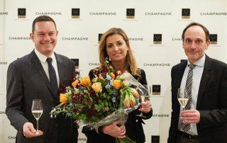 Sacha de Boer Prix Champagne 2018 met de heren