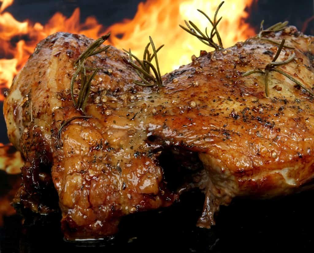 Vlees met vuur erachter Pixybay gratis