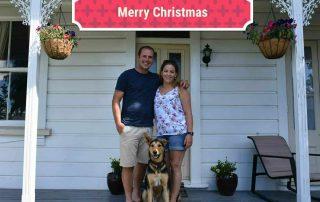 Jaco en Sandra van Hensbergen Merry Christmas
