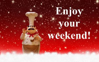Enjoy your weekend Kerst chef sterren Pixabay Gratis