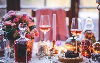 Wijn bij kerst dessert Pixabay uitgelicht