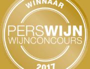 perswijn Wijnconcours Button - Winnaar