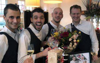 Beste WijnSpijs restaurant Team Smaak&Vermaak