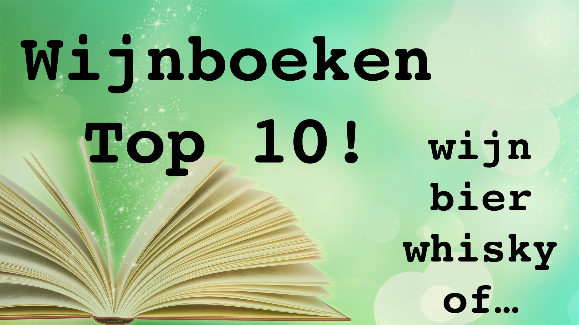 Top 10 wijnboeken