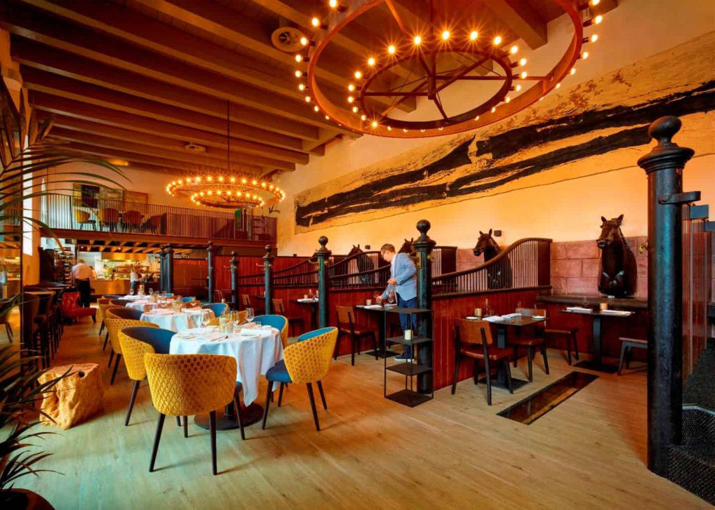 Restaurant Bentinck interieur