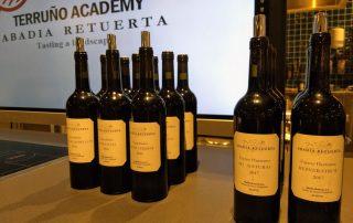 Abadia Retuerta wijnflessen van Martine