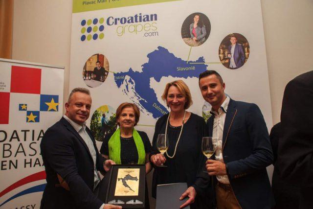 Croatian Wine Ambassador uitreiking