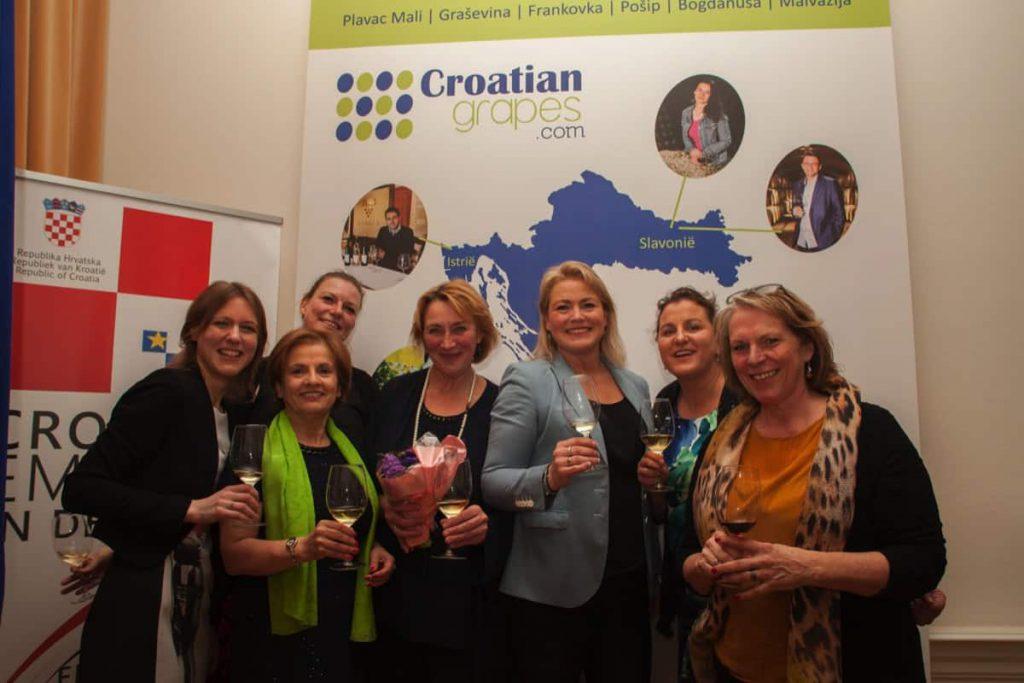 Croatian wine Ambassador de Women in Wine