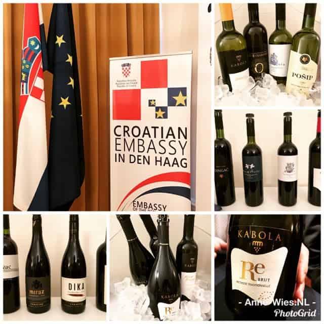 Kroatische wijnen compilatie