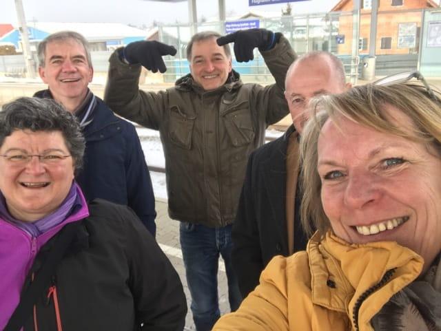 Team NL is gearriveerd in Graz voor het Concours Mondial du Sauvignon