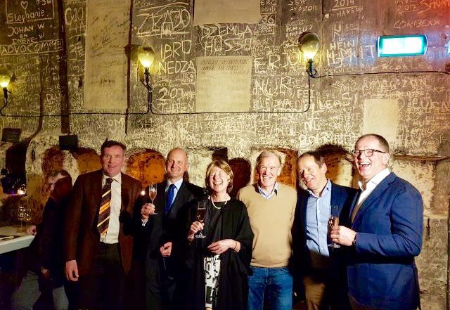 BOB Mergelland, het feestje bij Chateau Neercanne
