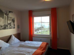 Leipzig hotelkamer