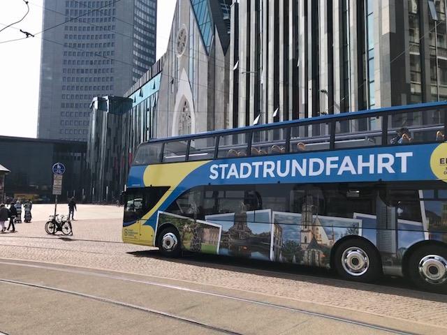 Leipzig stadsrondvaartbus