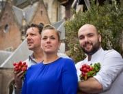 ML in Haarlem. M en L Gratama en K Kion Fotografie Corina van Manen Foodlovestories'.